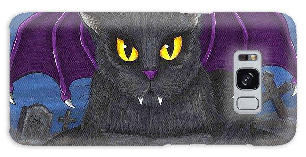 Vlad Vampire Cat Galaxy Case