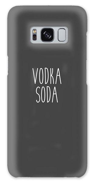 Vodka Soda Galaxy Case by Cortney Herron