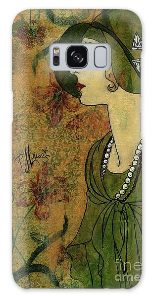 Vogue Twenties Galaxy Case by P J Lewis