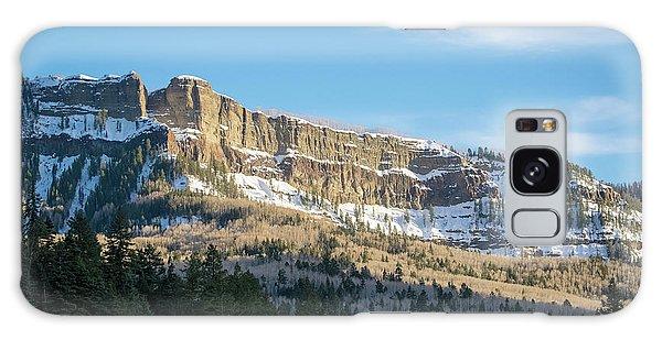 Volcanic Cliffs Of Wolf Creek Pass Galaxy Case