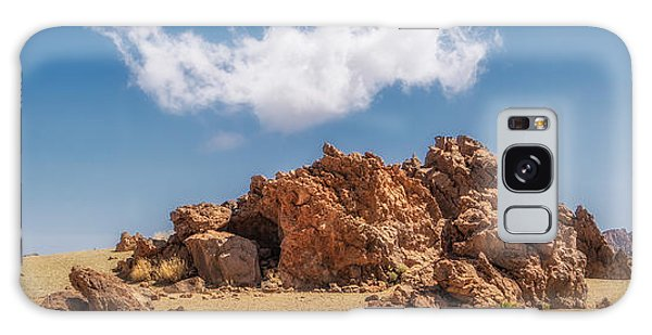 Galaxy Case featuring the photograph Volcanic Rocks by James Billings