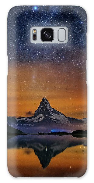 Volcano Fountain Galaxy Case