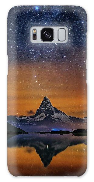 Volcano Fountain Galaxy Case
