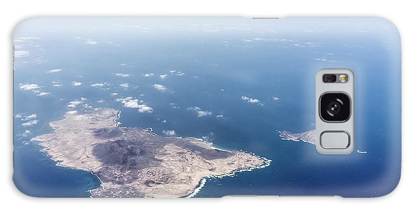 Volcano Island Galaxy Case