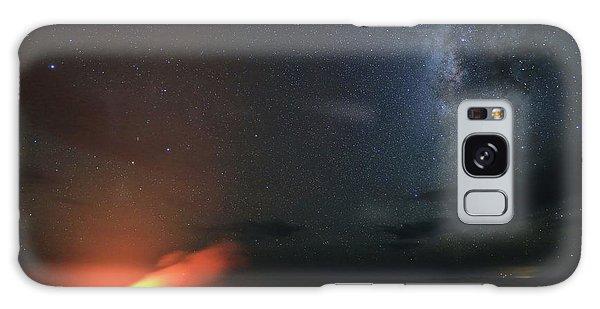 Volcano Under The Milky Way Galaxy Case