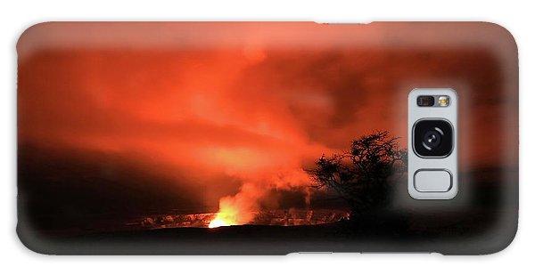 Volcano Under The Mist Galaxy Case