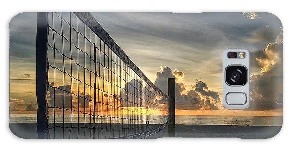 Volleyball Sunrise Galaxy Case