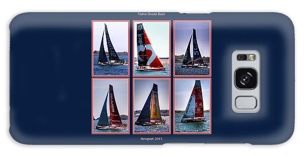 Volvo Ocean Race Newport 2015 Galaxy Case by Tom Prendergast