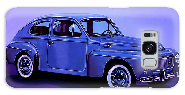 Automobile Galaxy Case - Volvo Pv 544 1958 Mixed Media by Paul Meijering