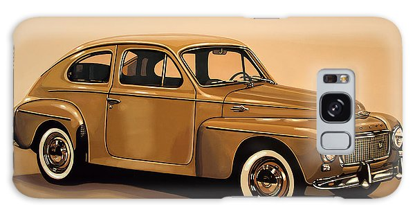 Motor Galaxy Case - Volvo Pv 544 1958 Painting by Paul Meijering