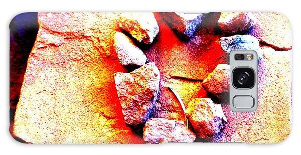 Vortex Heart Red Rocks Galaxy Case