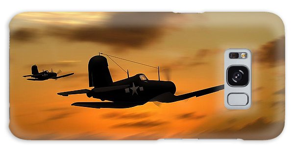 Vought Corsairs At Sunset Galaxy Case