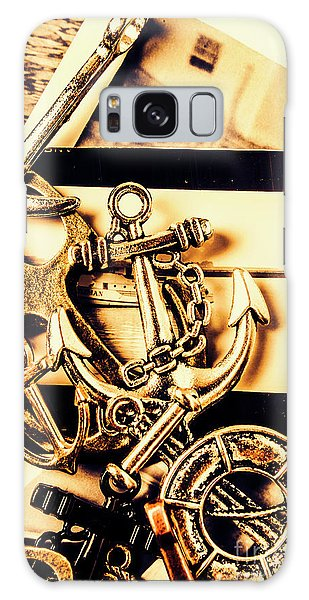 Decorative Galaxy Case - Voyage In Historical Boating by Jorgo Photography - Wall Art Gallery