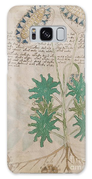 Voynich Flora 04 Galaxy Case