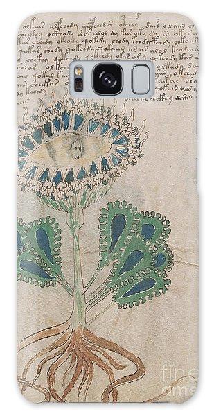 Voynich Flora 11 Galaxy Case