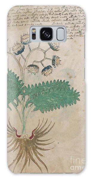 Voynich Flora 14 Galaxy Case