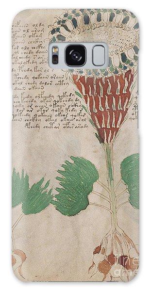 Voynich Flora 15 Galaxy Case