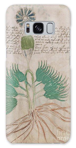 Voynich Flora 16 Galaxy Case