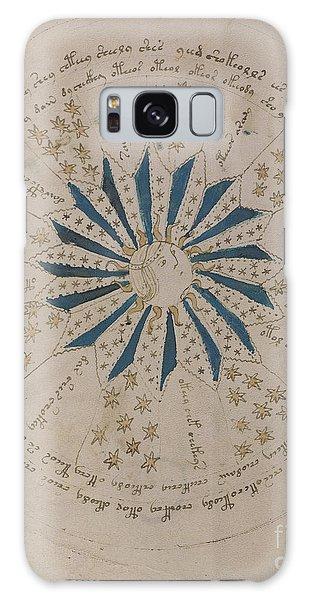 Voynich Manuscript Astro Rosette 1 Galaxy Case