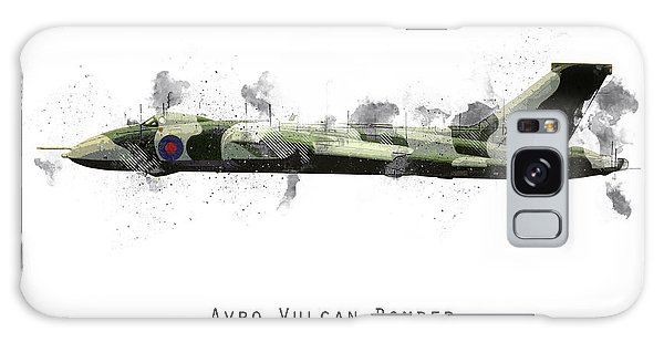 Black Buck Galaxy Case - Vulcan Bomber Sketch - Xm607 by J Biggadike