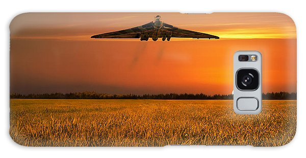 Black Buck Galaxy Case - Vulcan Farewell Fly Past by J Biggadike