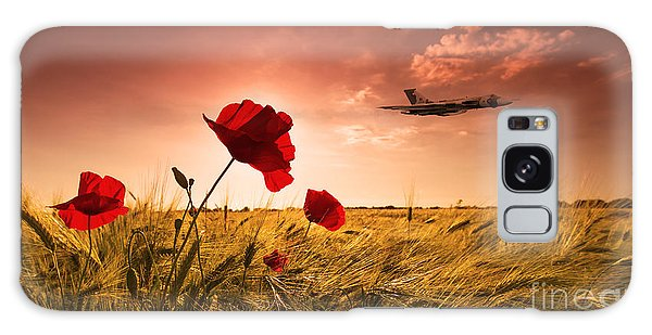 Black Buck Galaxy Case - Vulcan Poppy Sunset by J Biggadike