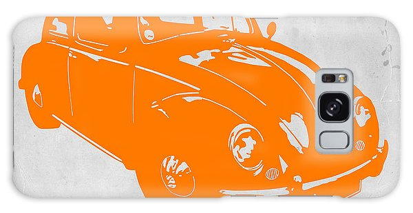 Beetle Galaxy S8 Case - Vw Beetle Orange by Naxart Studio