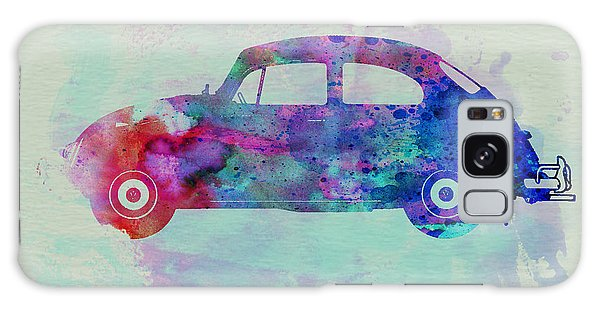 Beetle Galaxy S8 Case - Vw Beetle Watercolor 1 by Naxart Studio