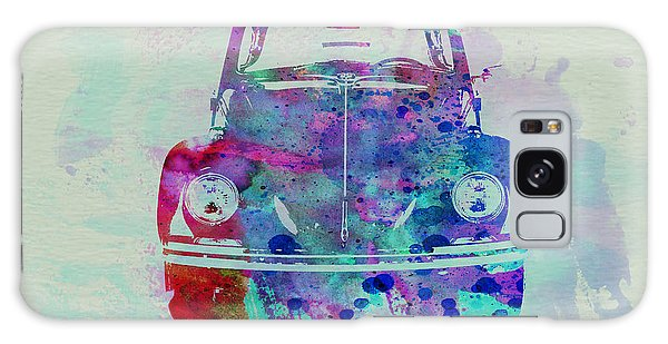 Beetle Galaxy S8 Case - Vw Beetle Watercolor 2 by Naxart Studio