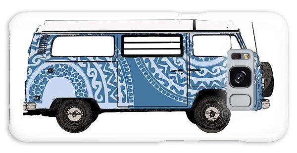 Vw Blue Van Galaxy Case