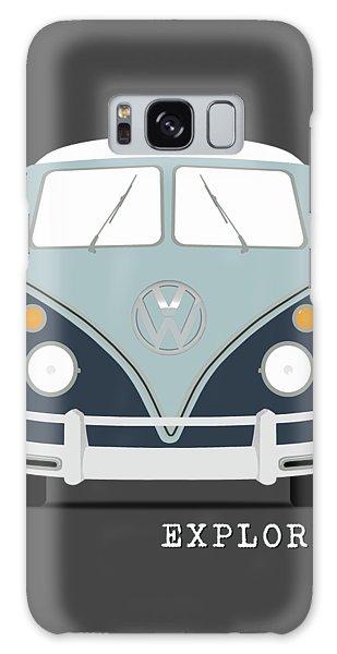 Volkswagen Galaxy Case - Vw Bus Blue by Mark Rogan