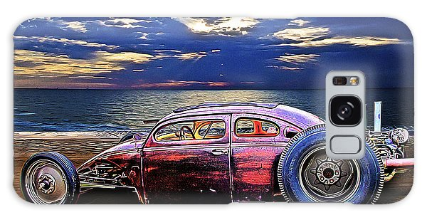 Rat Rod Surf Monster At The Shore Galaxy Case