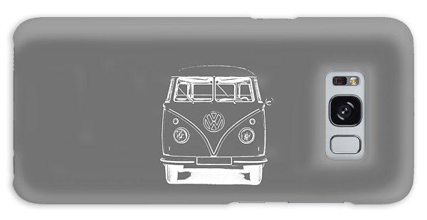 Vw Van Graphic Artwork Tee White Galaxy Case