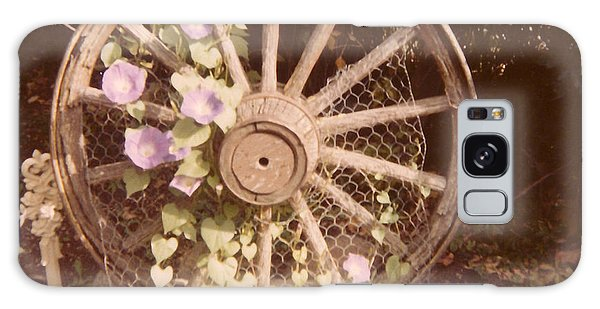 Wagon Wheel Memoir Galaxy Case