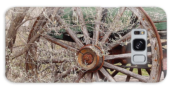 Wagon Wheel Galaxy Case by Robert Frederick