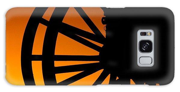 Wagon Wheel Sunset Galaxy Case