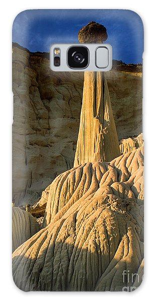 Desert View Tower Galaxy Case - Wahweap Hoodoos At Dawn by Inge Johnsson