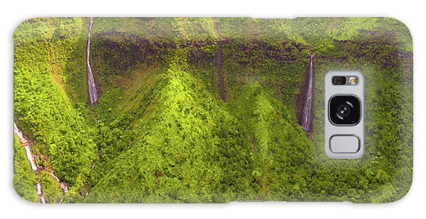Waialeale Waterfalls Galaxy Case