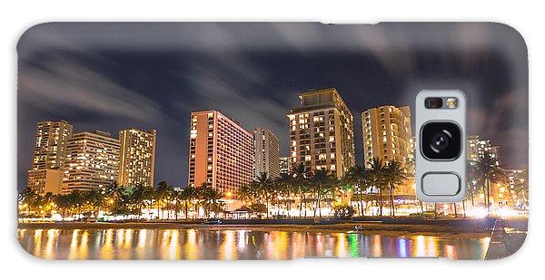 Waikiki Nights Galaxy Case