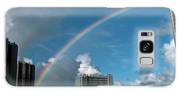 Waikiki Rainbow Galaxy Case by Anthony Baatz