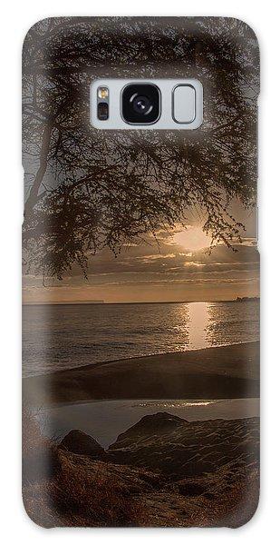 Waimea Bay Sunset 4 Galaxy Case