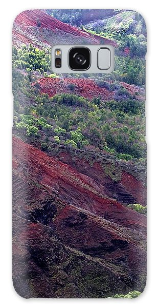 Galaxy Case featuring the photograph Waimea Canyon II by Kenneth Campbell
