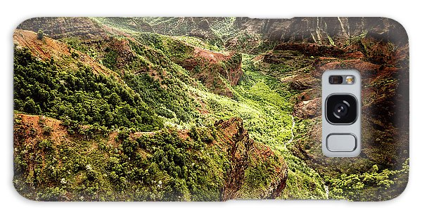 Waimea Canyon Galaxy Case