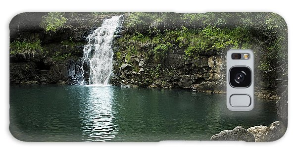 Waimea Falls Galaxy Case