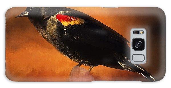 Waiting - Bird Art Galaxy Case
