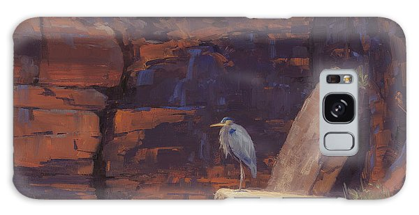 Heron Galaxy S8 Case - Waiting by Cody DeLong