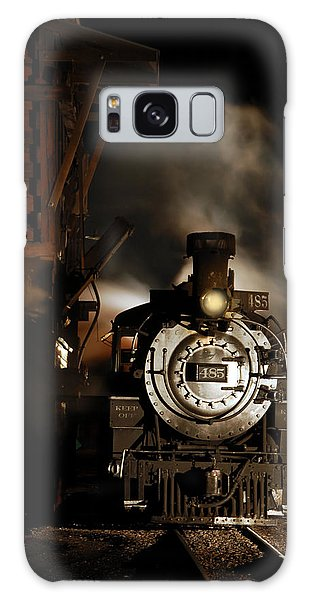 Waiting For More Coal Galaxy Case by Ken Smith