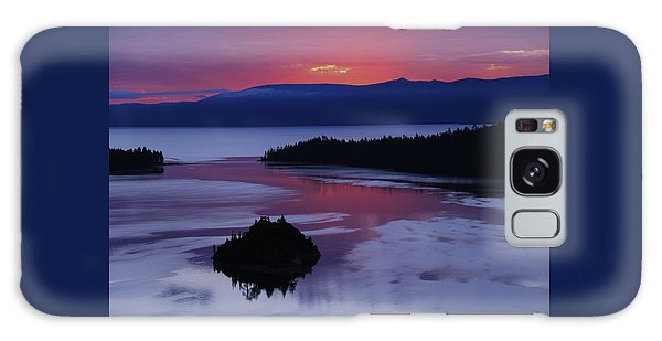 Wake Up In Lake Tahoe  Galaxy Case