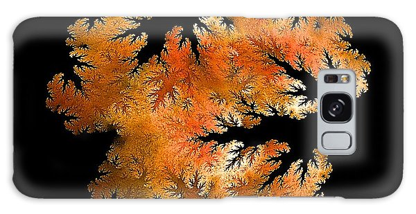 Waking In Mandelbrot Forest-2 Galaxy Case