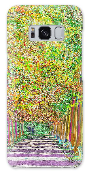 Walk In Park Cathedral Galaxy Case